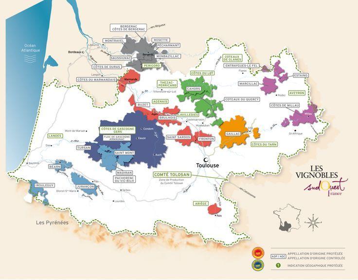 Vins Du Sud Ouest Du Sudouest Vins France Wine Wine