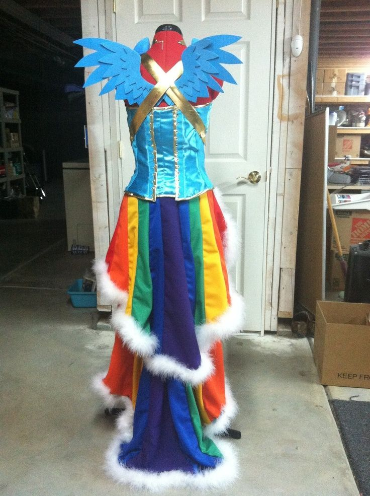 mylittlepony+cosplay   Rainbow Dash Dress - My Little Pony - Cosplay   Nerdy Cuteness, Funni ...