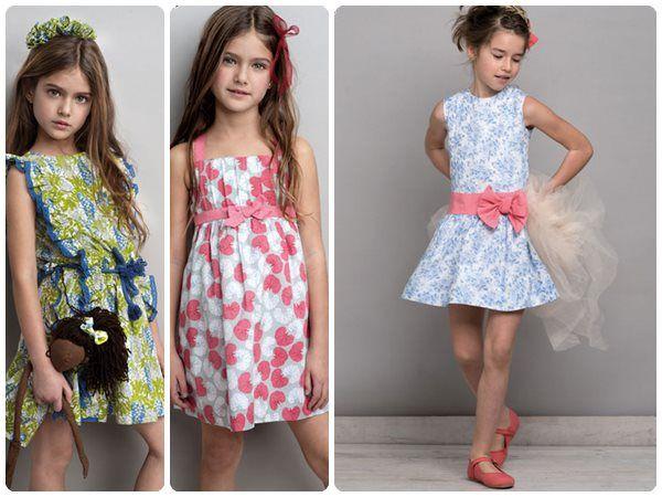 Neck & Neck verano 2014, ¡moda infantil colorida!