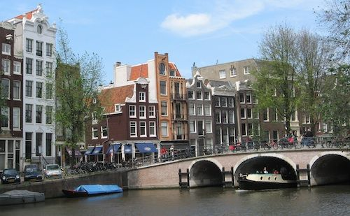 Amsterdam a beautiful city to visit. the aesthetic view of this city has made it the most charming city!
