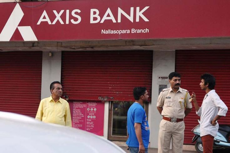 The Income Tax department on Friday raided the Kashmere Gate branch of Axis Bank in Delhi,