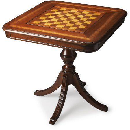 Butler Morphy Cherry Game Table, Multiple Finishes, Brown
