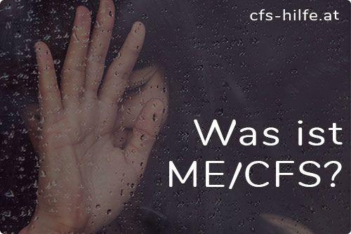 Das Chronische Erschöpfungssyndrom, ME/CFSist an der massiven geistigen und/oder körperlichen Erschöpfung und grippeähnlichen Symptomen zu erkennen.