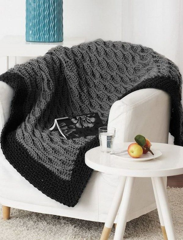 13 Easy Crochet Afghan Blanket Pattern