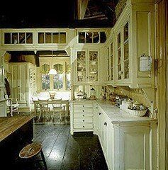 Practical Magic Kitchen- gosh I love these floors
