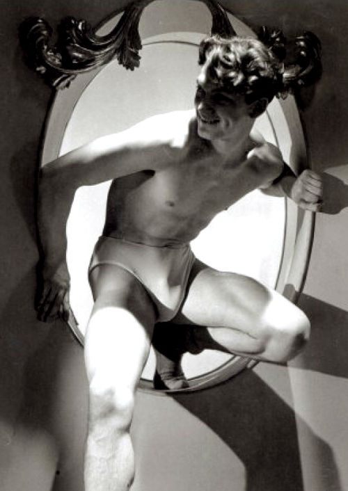 Jean Marais, 1930s. He was the lover of Jean Cocteau and the star of La Belle et la Bete and Orphee.