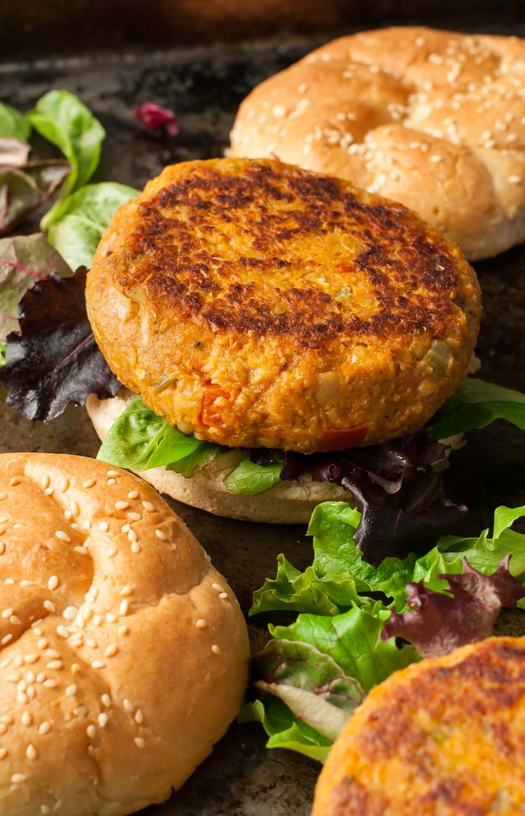 Maintenance: Cajun Chickpea and Sweet Potato Veggie Burgers with Cajun Aioli - Flecked with fresh vegetables and spiced to perfection. Crumble them over salads, or tuck into a sprouted-grain bun.