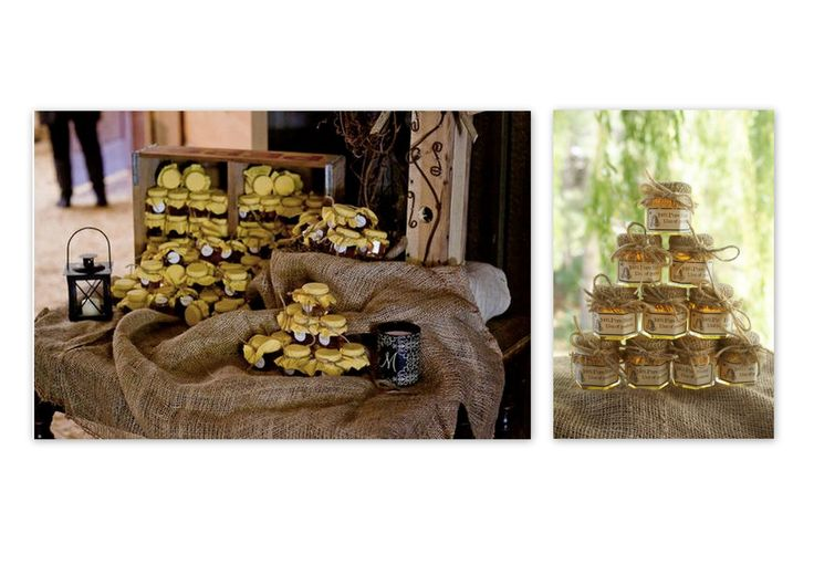 Local honey for memorable sweet wedding gift