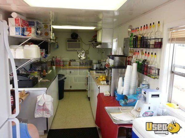 Arkansas BBQ Concession Trailer with Portable Smoker for Sale!!!