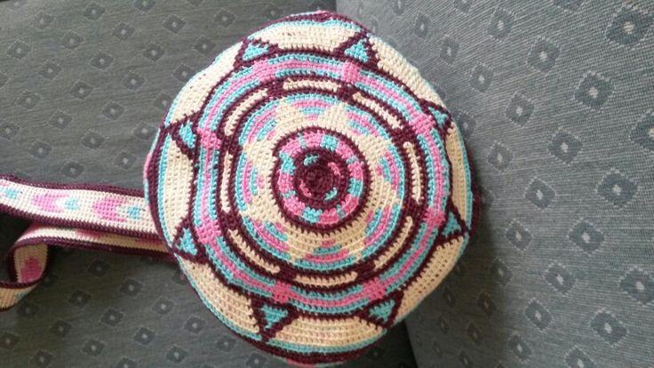 Mochila bag, bottom.