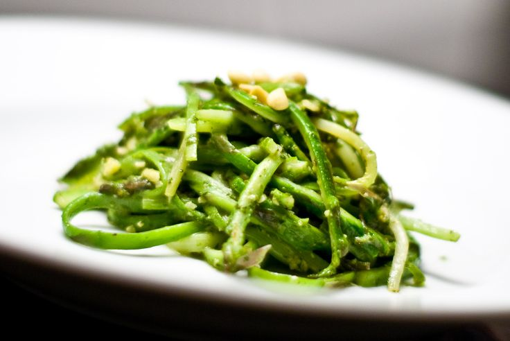 Asparagus linguine with mint pesto | Recipe | Linguine, Pesto and Mint