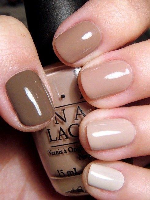 Nail Art Photos - Nail, nail, nail / Shades of nude - Pinnailart, Organize and Share Nail Art Photo/Image and Video You Love. Nail Art's Pinterest !