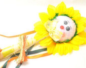 Bunny Duck Lampada . Ladybug Greek Easter by FourSeasonsCreations