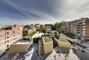 Biblioteca Sant Gervasi-Joan Maragall . Barcelona