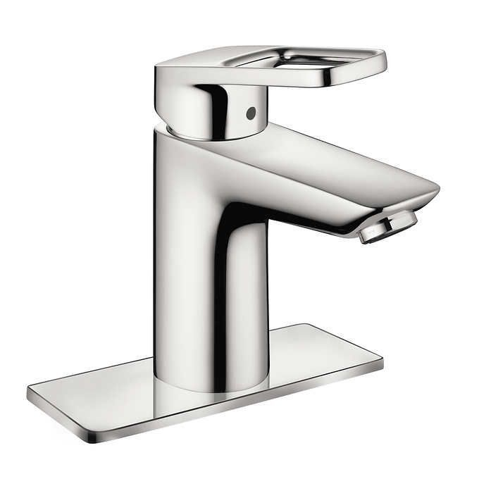 Hansgrohe Logis Loop Brushed Nickel Lavatory Faucet