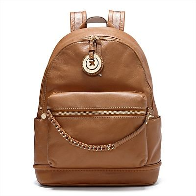 Just a touch of honey -Sling the SUPERNATURAL BACKPACK over one shoulder against a modern khaki ensemble #mimco