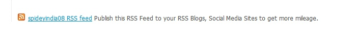 As you have already RSS Feed for latest gigs and category based, now I present to you User Based XML RSS Feed. Now, You can ask your sellers to promote all their gigs at once by publishing their individual RSS Feed to RSS Feed Directories, RSS Feed Blogs to get more mileage for their gigs to sell in the micro marketplace. Screenshot:   Live Demo here Price $10