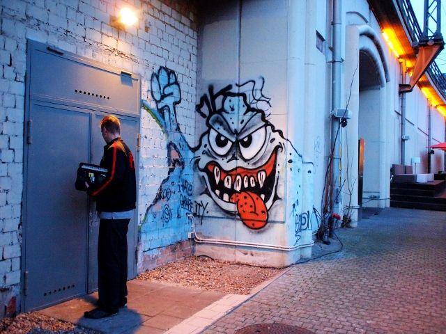 street horror stories, Berlin Mitte