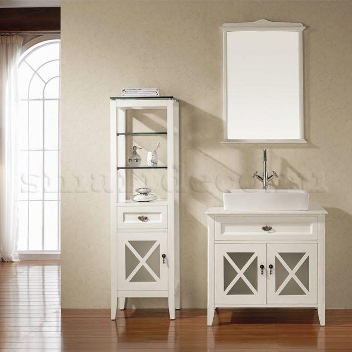 306-S02MV1069 Мебель для ванной комнаты | 306 Ashey (стиль Прованс) | Прованс | Мебель для ванных | Мебель | Интернет-магазин элитной мебели Smartdeco