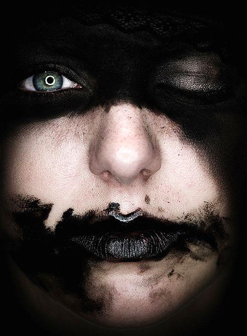 monk3y + black + mask + wink / Déjà vu you / on TTL Design