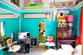Moon to Moon: The gloriously Bohemian home of artist Isabelle Tuchband.....