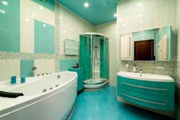 Baños de estilo por Ольга Макарова (Экодизайн)