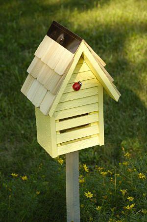 Ladybug Loft Ladybug House - Provide a place for ladybugs to hibernate!