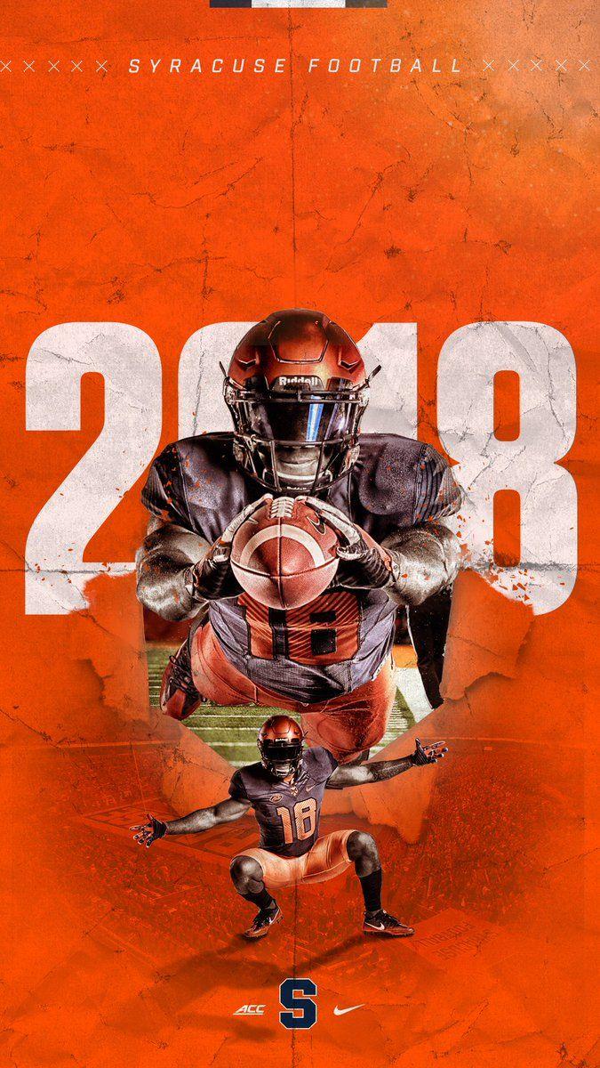 Syracuse Sports Graphic Design Sport Poster Design Sports Design Inspiration