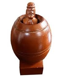 The Barrel Man. One naughty ;) souvenir from the Philippines.