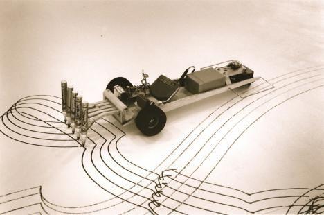 Alan Storey - Battery Operated Drawing Machine, 2010
