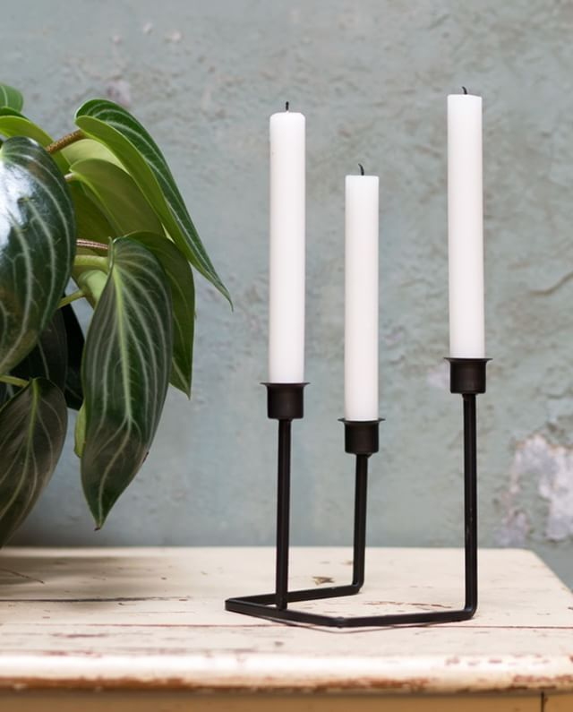 Anna loves the Nordic simplicity of this candle holder. Do you? Price DKK 26,60 / SEK 37,90 / NOK 38,80 / EUR 3,73 / ISK 739 #candleholder #candlestick #interior #design #decor #decoration #inspiration #sostrenegrene #søstrenegrene #grenehome