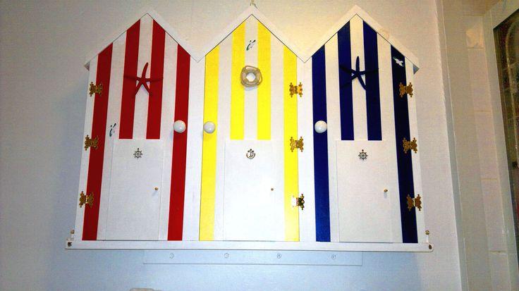 My Beach Hut bathroom cabinet.