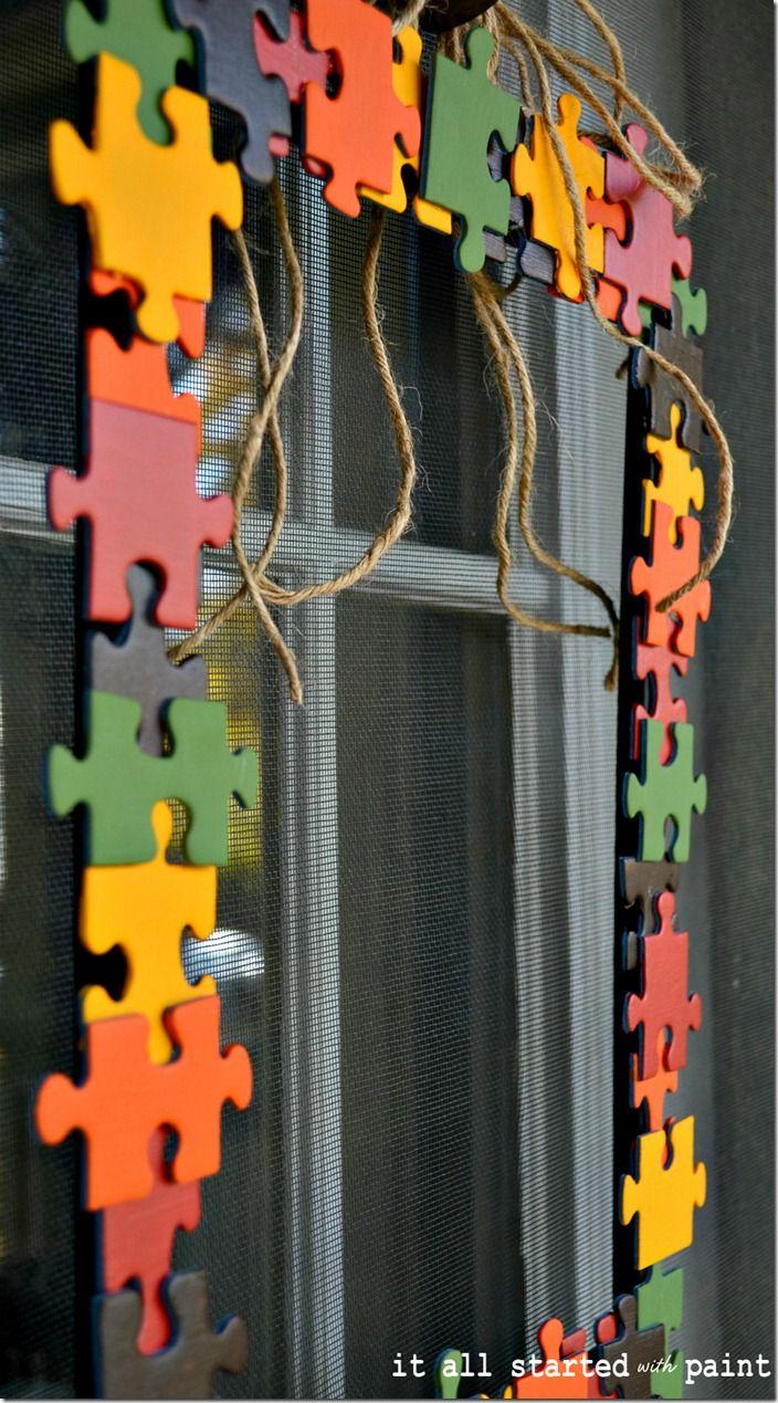 puzzle-piece-wreath-for-front-door