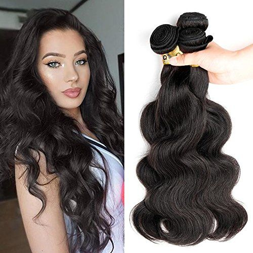 "8A Grade Brazilian Body Wave Hair 3 Bundles (Natural Color 22"" 24"" 26"" 300g) Remy Hair Extensions Brazilian Hair Weave Body Wave Hairstyles Cheap Brazilian Virgin Hair Weaves"