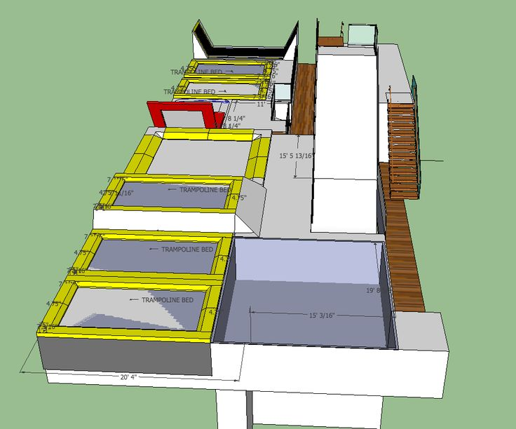 dream plans for an all-in-one ski/snowboard/trampoline training facility maxairtrampolines.com