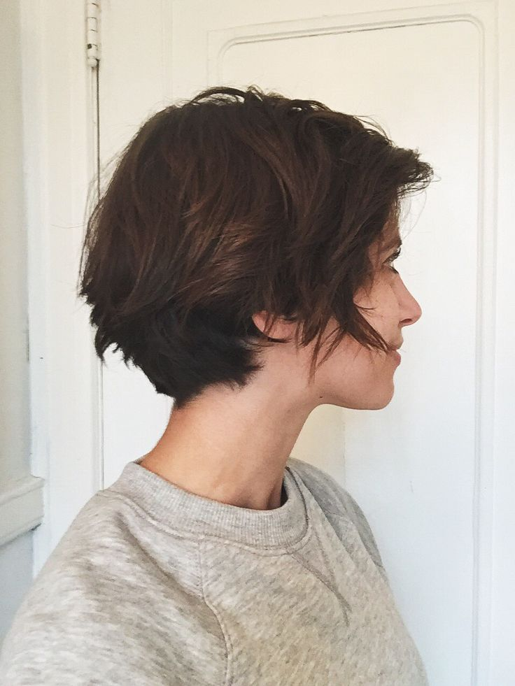 How to cut and style short hair-7029