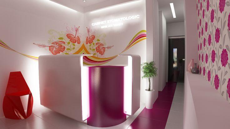 Amenajare cabinet stomatologic - mobilier specializat  http://www.sertarefarmacii.ro/