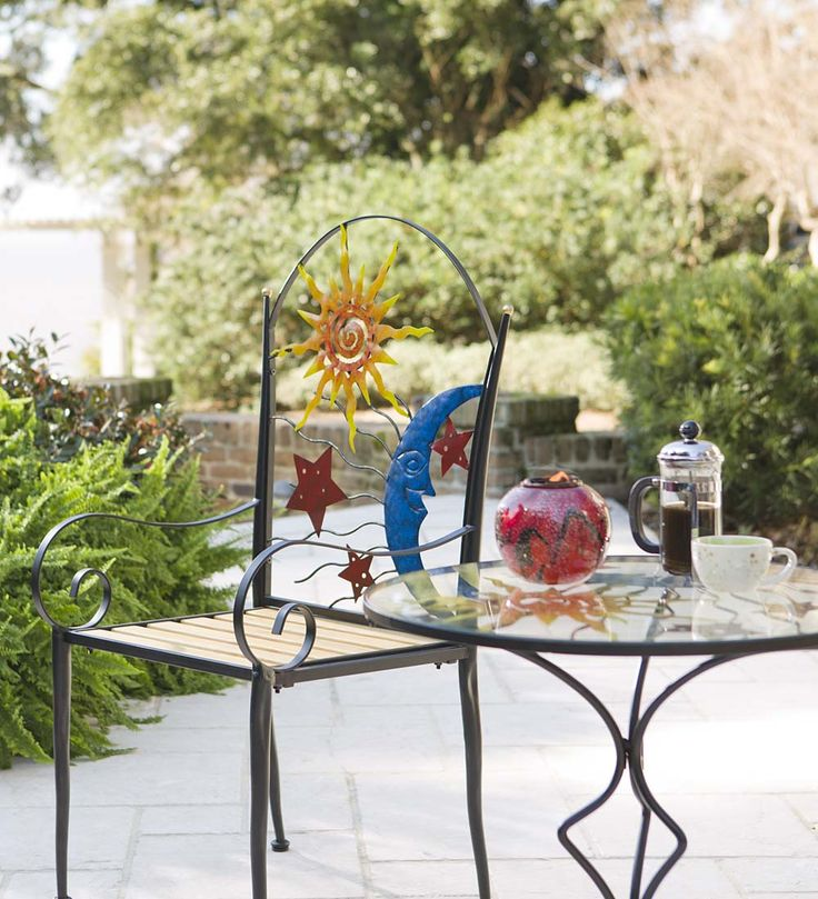Stars, Moon And Sun Metal Chair And Table Set. Right Now, Take OFF Select Outdoor  Furniture. Hurry, Ends