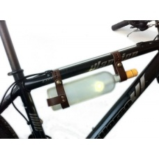 Bicycle Leather Wine Rack $49.95 - Ok, so technically it's not a bag, but what a clever way to stash your wine or water bottle on a romantic bike ride.