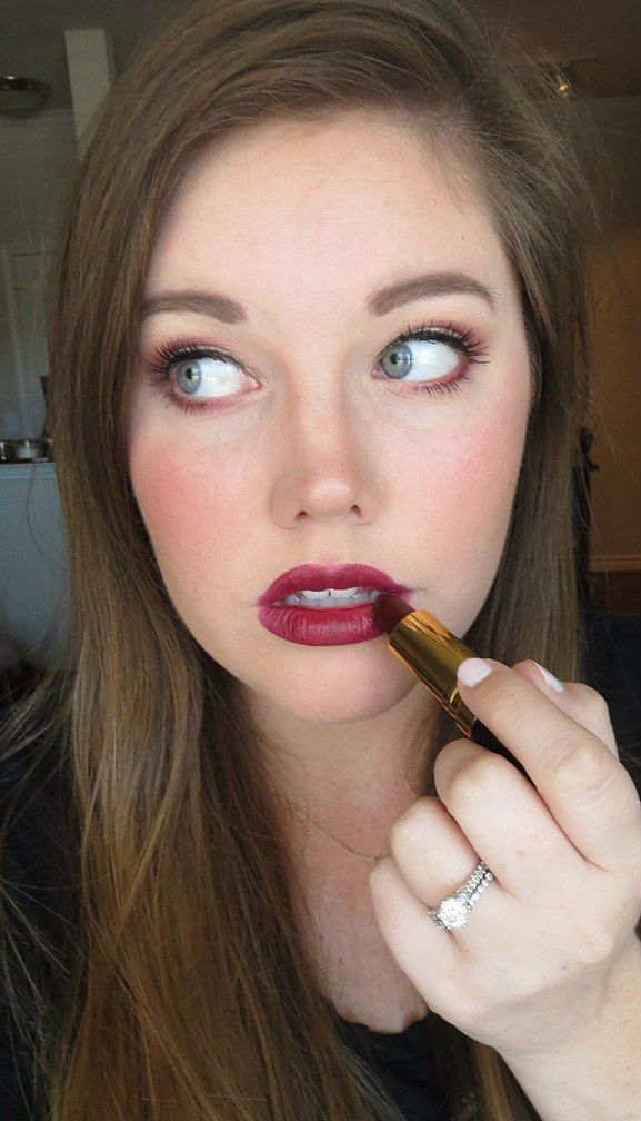 Revlon Super Lustrous lipstick in Black Cherry. . . Amazing berry lipstick from the drugstore!