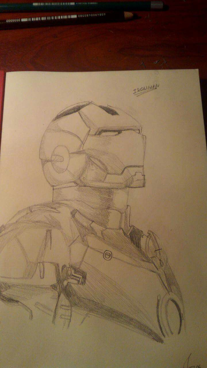 Ironman quick sketch