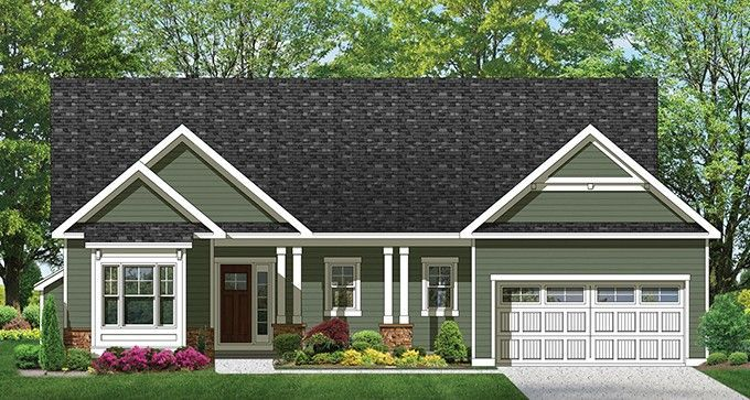 ePlans Ranch House Plan – Perfect Starter Ranch – 1601 Square Feet and 3 Bedrooms from ePlans – House Plan Code hwepl76919