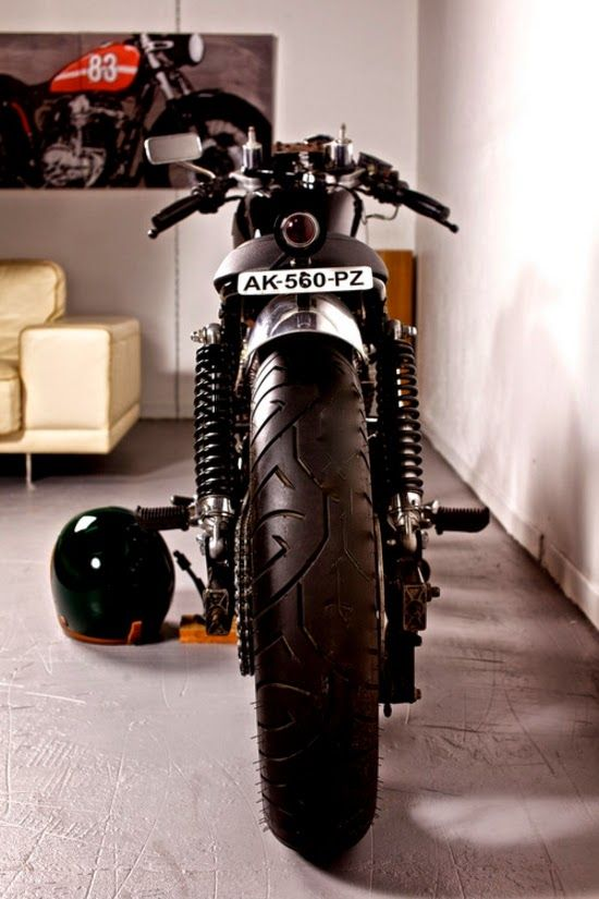 I'd have a bike like this in my living room. like a wall painting #Art