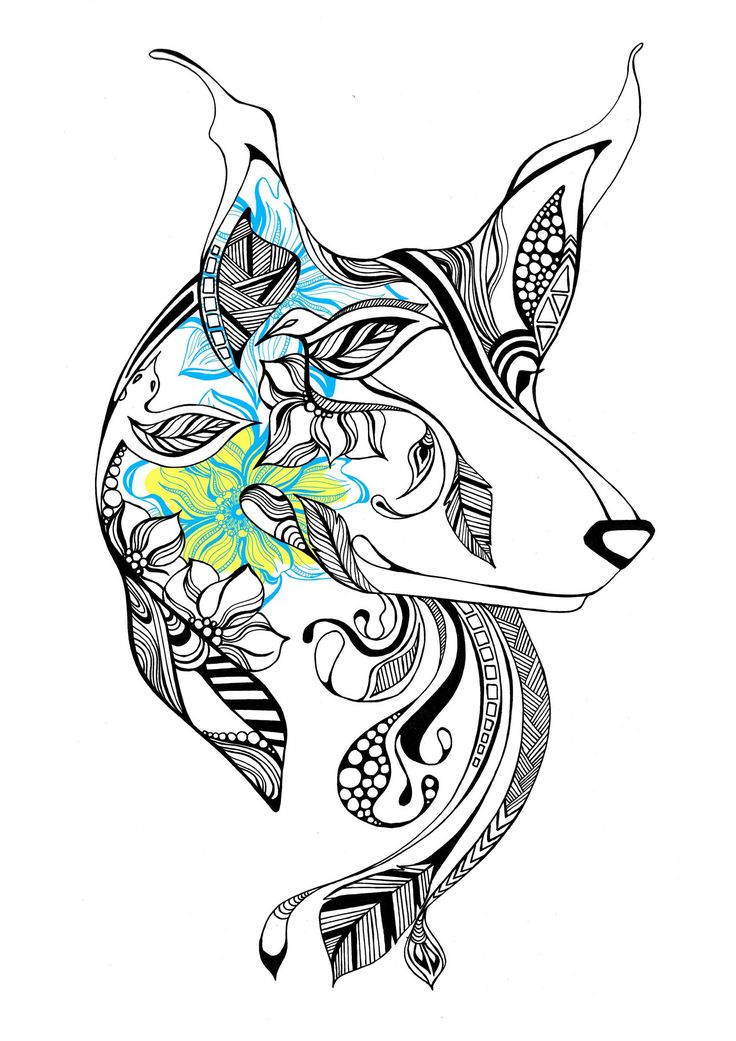 Line Art Dog Tattoo : Best images about dog breeds on pinterest tribal wolf
