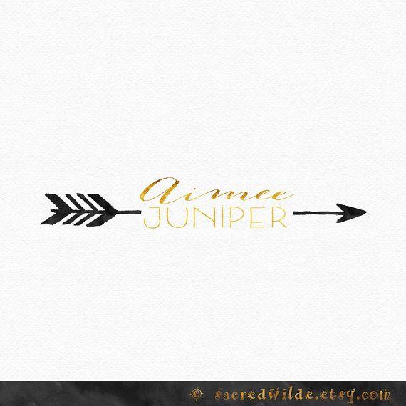 watercolor arrow logo design watercolour arrow bohemian logo boho logo ...