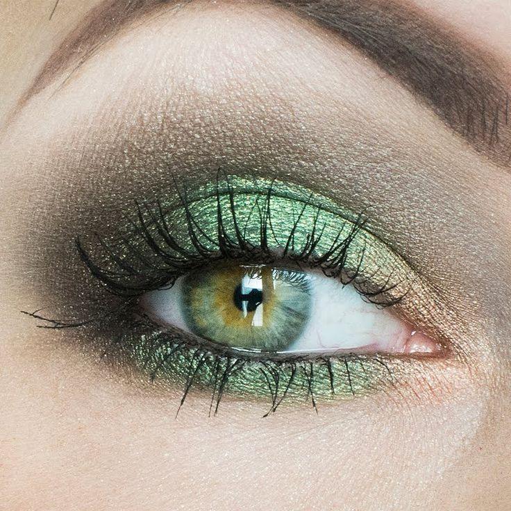 #Makeup #Green #Eyes #Maquillage #Vert #Yeux #Soirée #Journée #Night #Day: