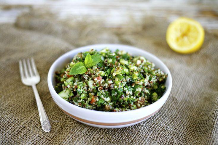 Quinoa & Asparagus Tabbouleh | Recipe | Asparagus, Quinoa and Html