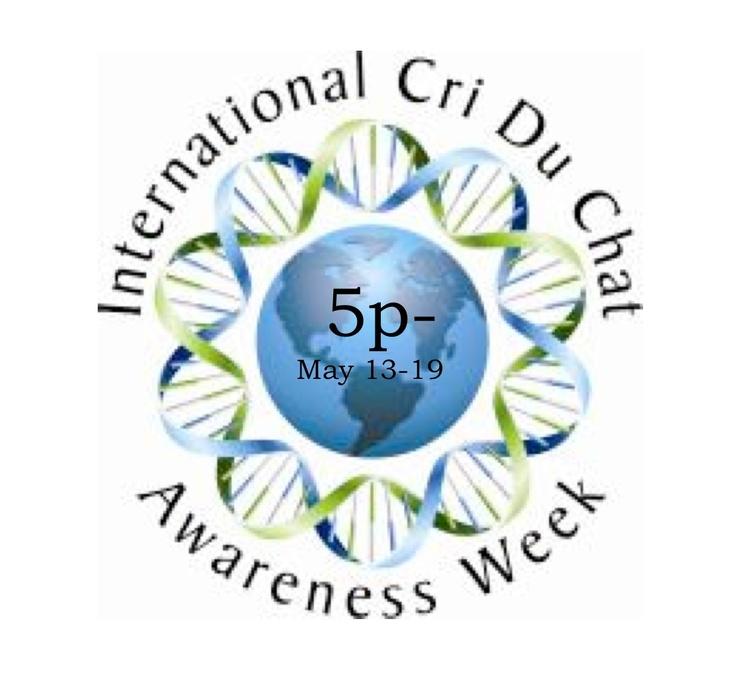 International Cri du Chat Awareness Week May 13-19