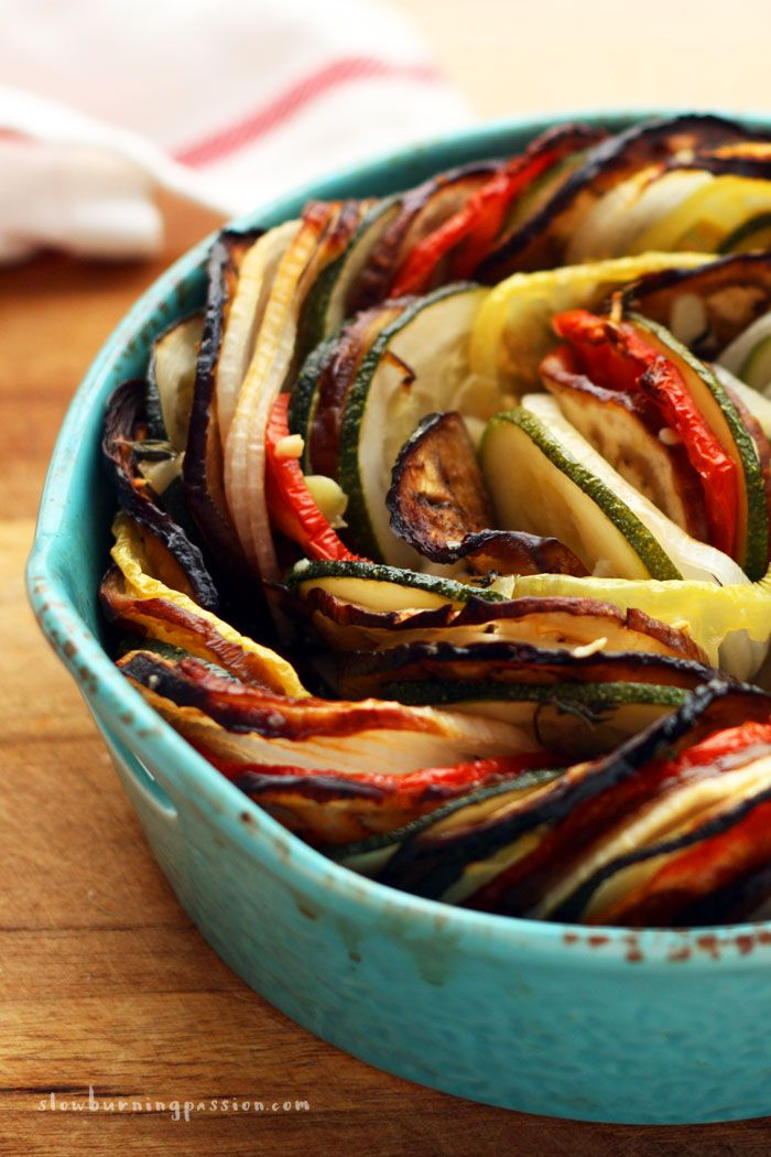 Do you have a mandolin slicer? If you do you can make a really stunning ratatouille in no time flat. I've got that ratatouille recipe for you right here!