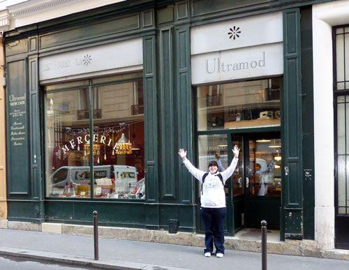 craft store in Paris!